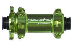 Rennrad Disc Vorderradnabe grün