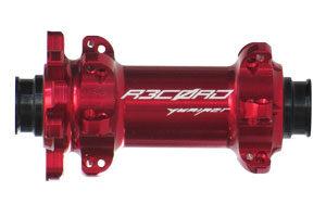Rennrad Disc Vorderrad rot